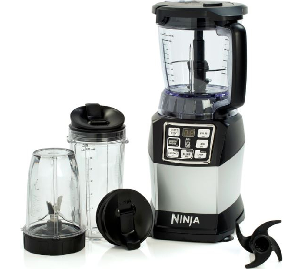 Ninja nutri ninja compact system bl490uk blender black for Kitchen perfected blender