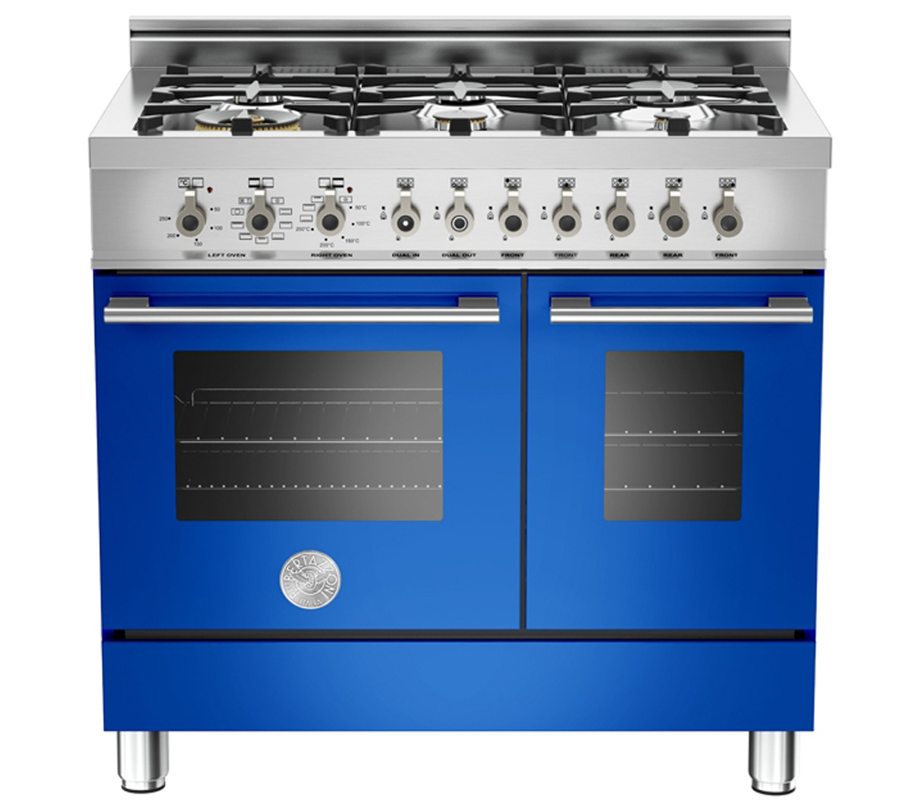 Professional Cooking Appliances ~ Bertazzoni professional dual fuel twin range cooker
