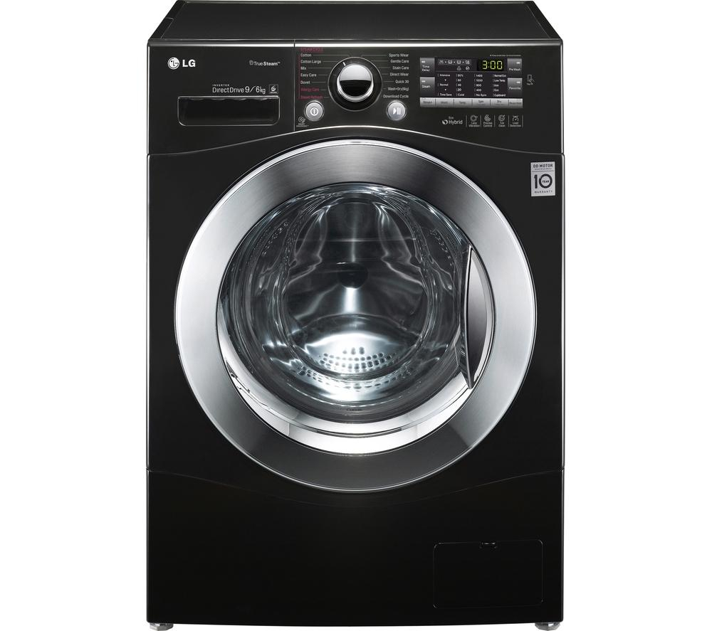 Lg Dryer Manufacture ~ Lg fh a fdh n washer dryer black appliance sava