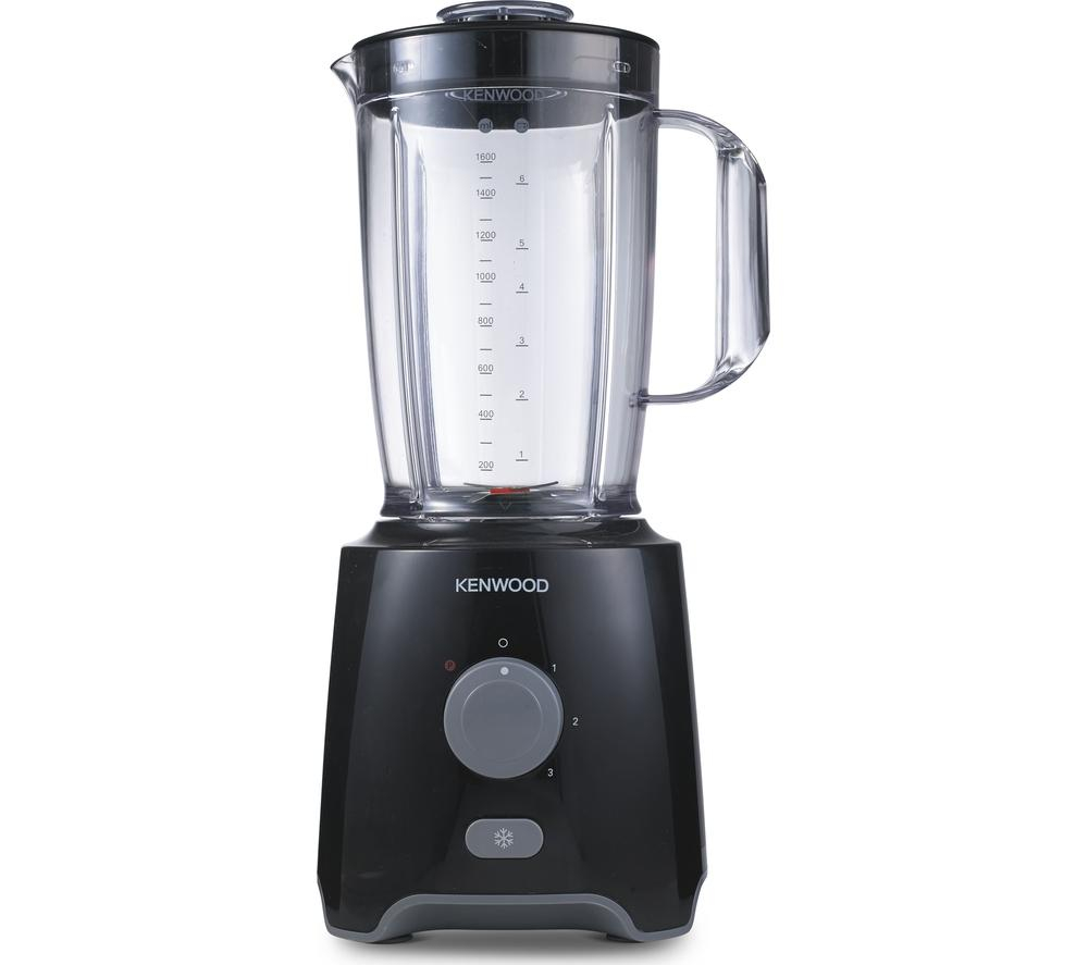 Kenwood blp400bk blender black stainless steel for Kitchen perfected blender