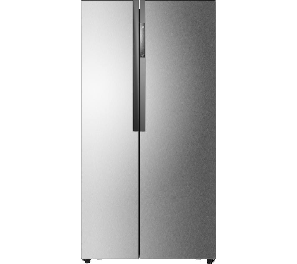 haier hrf 521dm6 american style fridge freezer stainless steel stainless steel. Black Bedroom Furniture Sets. Home Design Ideas