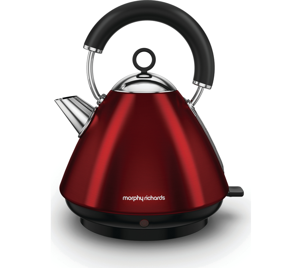 Morphy Richards Red Kitchen Accessories: Morphy Richards Accents 102029 Traditional Kettle