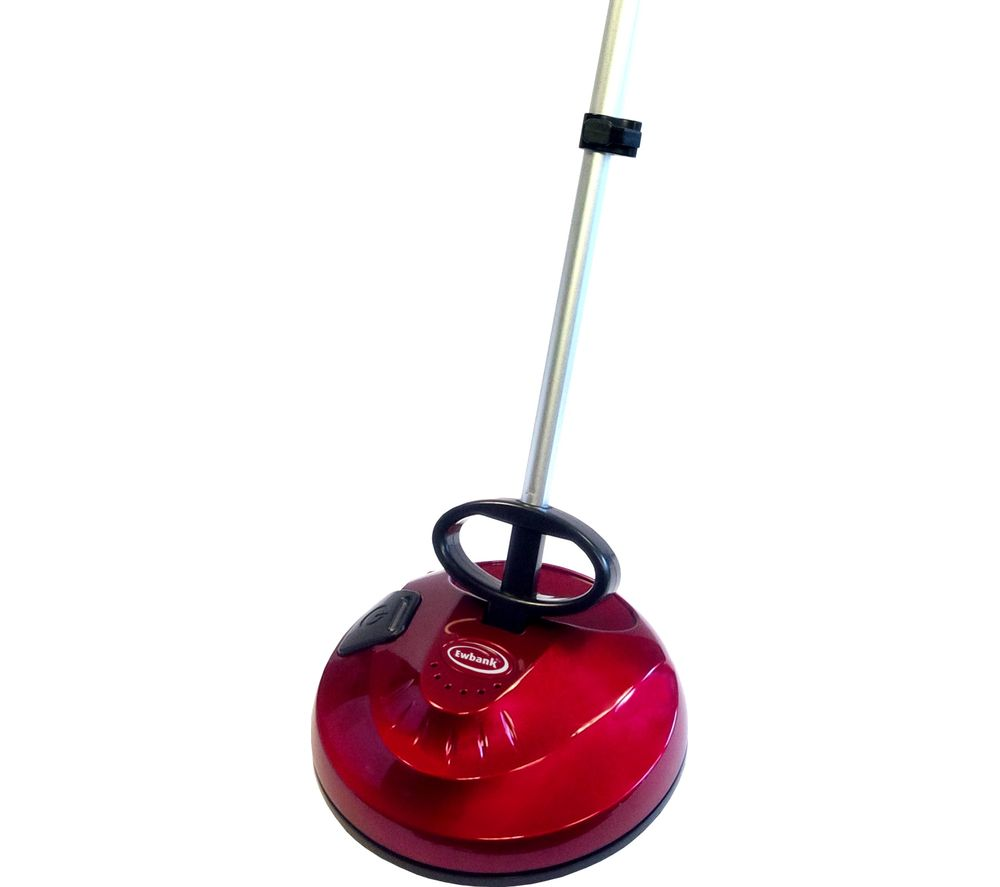 Ewbank cha cha 2 cordless floor polisher red black for Target floor cleaning machines