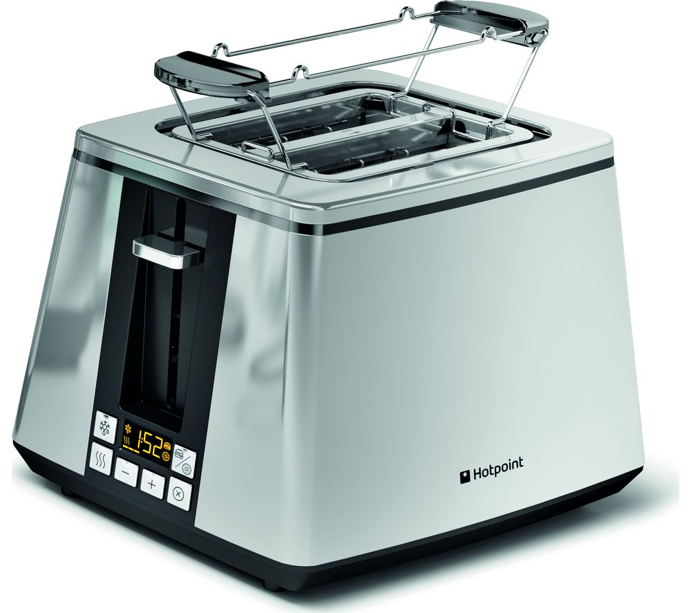 HOTPOINT Ultimate Collection TT 22E UP0 2-Slice Toaster Silver, Silver Appliance Sava