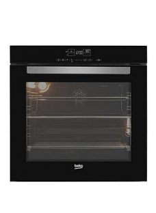 Beko Bvm34400Bc 60Cm Built In Single Electric Oven - Black - Oven Only