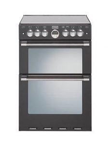 Stoves Sterling Mini 600G 60Cm Wide Double Oven Gas Range Cooker  - Cooker With Connection