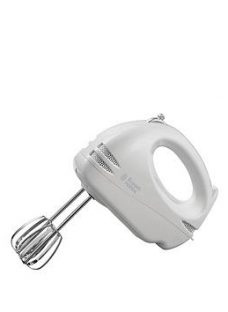 Russell Hobbs Food Collection White Hand Mixer - 14451