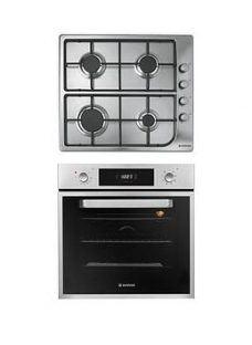 Hoover Hprgm60Ss 60Cm Built-In Electric Single Oven &Amp; Gas Hob Pack  - Oven And Hob Pack With Installation