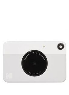 Kodak Printomatic Instant Camera  - Instant Camera With 20 Pack Of Paper And Case