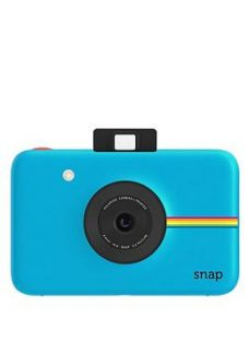 Polaroid Snap Digital Camera With 20 Pack Of Paper And Optional Case - Blue - Instant Camera With 20 Pack Of Paper And Case