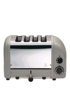 Dualit 47455 Classic 4-Slice Toaster - Shadow