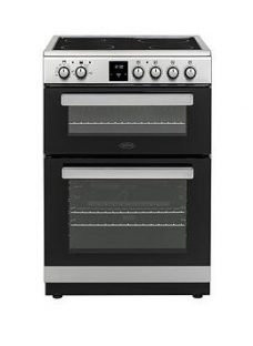 Belling Fse608Dpc 60Cm Wide Double Oven Electric Cooker  - Cooker Only