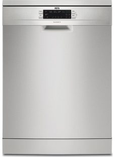 AEG AirDry Technology FFE62620PM Full-size Dishwasher - Stainless Steel