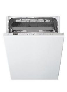 Whirlpool Wsio3T223Pcex 10-Place Slimline Integrated Dishwasher  - Dishwasher With Installation