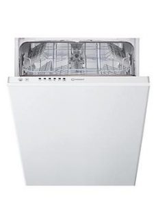 Indesit Dsie2B10 10-Place Slimline Integrated Dishwasher  - Dishwasher Only