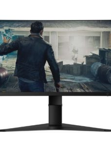 "LENOVO G34W-10 Wide Quad HD 34"" Curved WLED Gaming Monitor - Black"