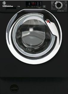 HOOVER H-Wash 300 HBWS48D1ACBE Integrated 8 kg 1400 Spin Washing Machine – Black