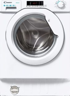 CANDY CBW 47D2E Integrated 7 kg 1400 Spin Washing Machine – White