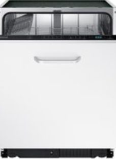 Samsung Series 5 DW60M5050BB Fully Integrated Standard Dishwasher - Black Control Panel with Fixed Door Fixing Kit - A+ Rated