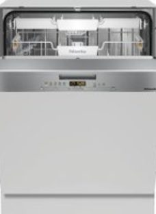 Miele G5000SCi Semi Integrated Standard Dishwasher - Clean Steel Control Panel with Fixed Door Fixing Kit - A++ Rated