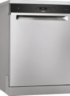 Whirlpool WFC3C33PFXUK Standard Dishwasher - Stainless Steel Effect - A+++ Rated