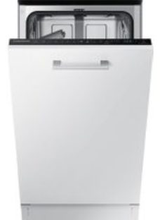 Samsung DW50R4060BB Fully Integrated Slimline Dishwasher - Black Control Panel with Fixed Door Fixing Kit - A++ Rated