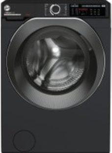 Hoover H-WASH 500 HWD610AMBCB/1 Wifi Connected 10Kg Washing Machine with 1600 rpm - Black - A+++ Rated