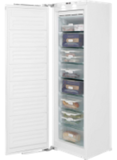 Miele FNS37402i Integrated Frost Free Upright Freezer with Fixed Door Fixing Kit - A++ Rated