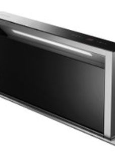 Smeg KDD90VXNE 88 cm Downdraft Cooker Hood - Stainless Steel / Black Glass - A Rated