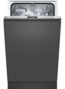 NEFF N50 S875HKX20G Wifi Connected Fully Integrated Slimline Dishwasher - Stainless Steel Control Panel with Fixed Door Fixing Kit - A+ Rated