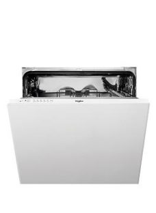 Whirlpool Supreme Clean Wie2B19Nuk 13-Place Integrated Dishwasher - White