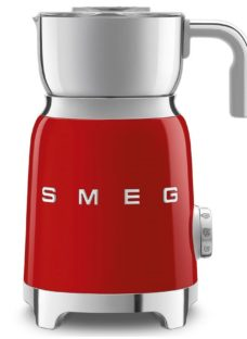 SMEG MFF01RDUK Milk Frother - Red