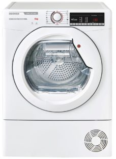 HOOVER Link X Care HLX H8A2TE WiFi-enabled 8 kg Heat Pump Tumble Dryer - White