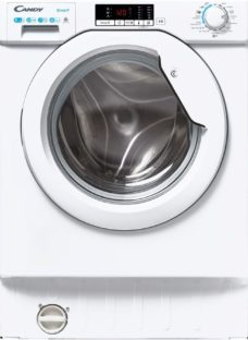 CANDY CBD495D2WE/1-80 Integrated 9 kg Washer Dryer