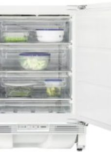 Zanussi ZYAK82FR Integrated Under Counter Freezer with Fixed Door Fixing Kit - A+ Rated