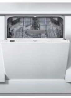 Whirlpool WIC3C26UK Fully Integrated Standard Dishwasher - Grey Control Panel with Fixed Door Fixing Kit - A++ Rated