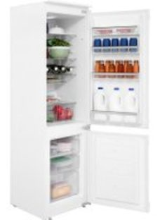 Amica BK316.3 Integrated 70/30 Fridge Freezer with Sliding Door Fixing Kit - White - A+ Rated
