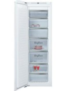 NEFF N90 GI7815CE0G Integrated Frost Free Upright Freezer with Fixed Door Fixing Kit - A++ Rated