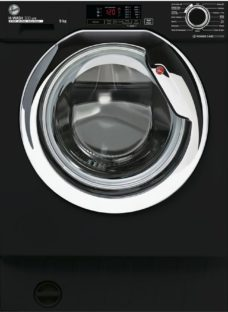 HOOVER H-Wash 300 HBWS49D1ACBE Integrated 9 kg 1400 Spin Washing Machine – Black