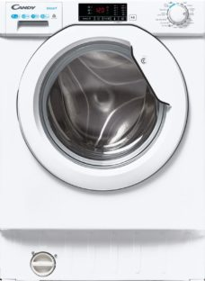 CANDY CBD 475D2E/1 Integrated 7 kg Washer Dryer - White