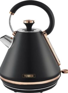 TOWER Cavaletto T10044RG Traditional Kettle - Black