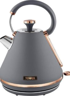 TOWER Cavaletto T10044RGG Traditional Kettle - Grey