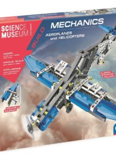 SCIENCE MUSEUM Aeroplanes & Helicopters Mechanics Kit