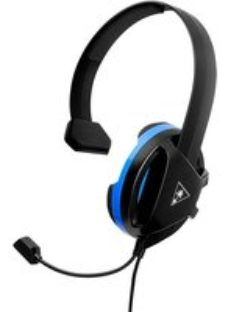 Turtle Beach Recon Chat Gaming Headset - Black / Blue