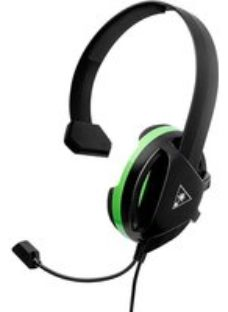 Turtle Beach Recon Chat Gaming Headset - Black / Green