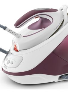 TEFAL Express Protect SV9201 Steam Generator Iron - White & Burgundy