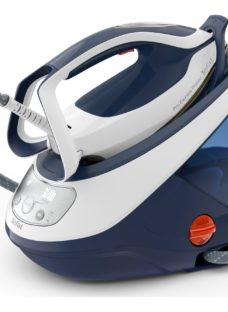 TEFAL Pro Express Protect GV9221G0 Steam Generator Iron - White & Blue