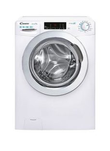 Candy Smart Pro Cso1483Twce 8Kg Load Washing Machine With 1400 Rpm Spin - White