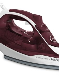 TEFAL Express Steam FV2869 Steam Iron - White & Red